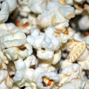Yellow Butterfly Popcorn 1